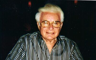 Abraham (Abe) Besser was born Dec. 26, 1925, in a little town of Krzepice, Poland.