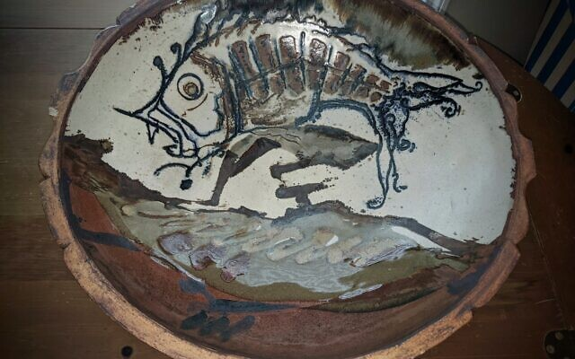 Jerry Chappelles' large bowl is an example of collectible ceramic art