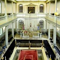 The Touro Synagogue, built in 1963, is America's oldest synagogue.