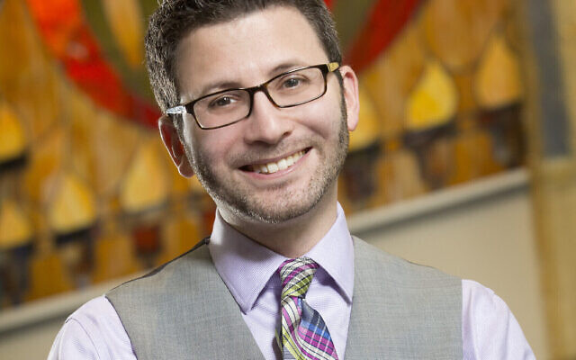 Rabbi Joshua Hearshen leads Congregation Or VeShalom in Brookhaven.