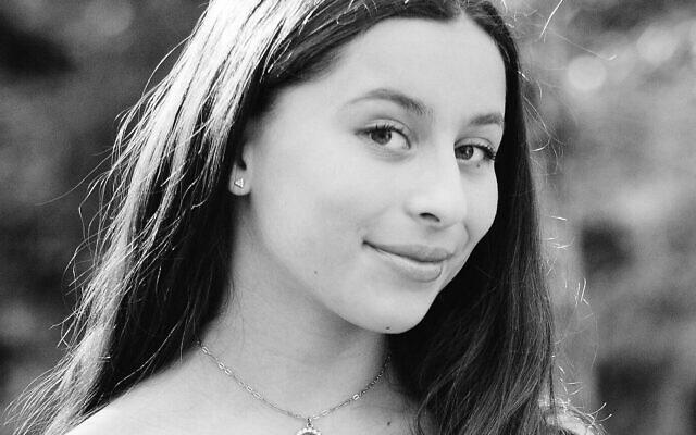 Sadie Ganz, daughter of Rebecca and Jonathan Ganz, became a bat mitzvah April 17, 2021.
