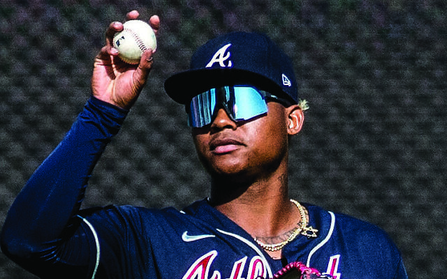 Braves player Cristian Pache is a practicing Christian but wears a Jewish star.