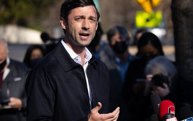 Pleas for peace from relatives in Jerusalem led Jon Ossoff to lead a call for an immediate cease-fire.