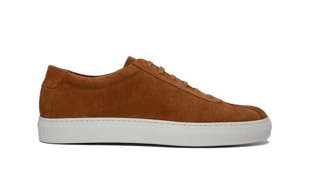 Cobbler Union Due Cognac Suede Shoes