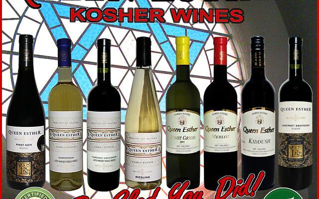 Queen Esther wines