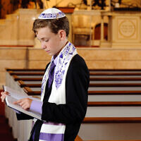 Photo by Joseph Aczel // London's parshah involved his study of sacrifice.
