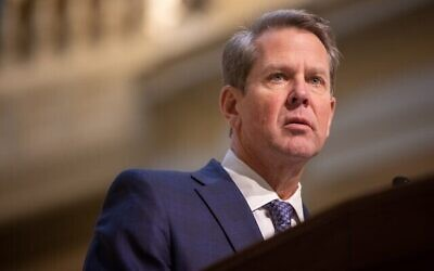 Gov. Brian Kemp directed state to increase investment in Israel.