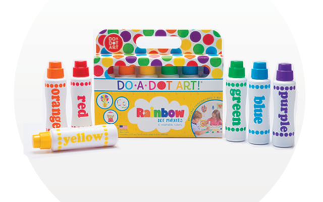 Do-A-Dot Art! kit of colors hits the spot for little ones who love to paint.