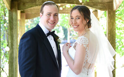 Joey and Carla Hotz were married on May 6, 2021
