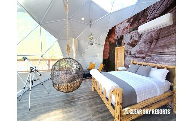 Dome interiors are inspirational and thematic.