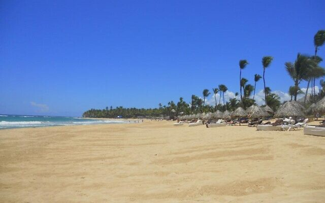 Dominican Republic's beaches and clear blue water was a top honeymoon destination for the Schwartzes.