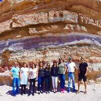 Cheri Scheff Levitan visited Makhtesh Ramon with her tour group.