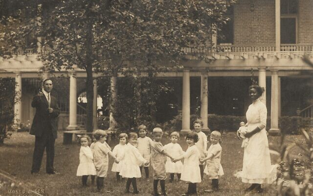 Courtesy of the Crosby Family Collection // The Jewish Orphans' Home in New Orleans, circa 1915.