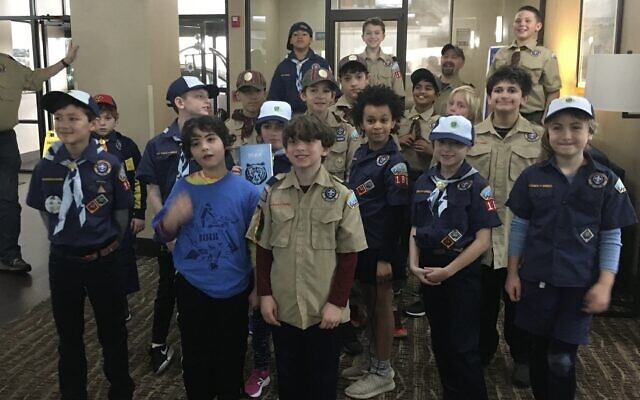 Pack 1818 on Columbus, Ga., trip just before the COVID lockdown.