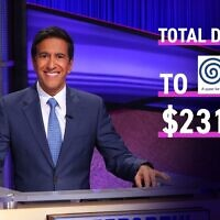Hosting Jeopardy! Dr. Sanjay Gupta chose Odyssey as his featured charity and donated $231,059.