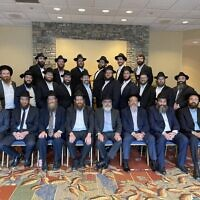 Shluchim of Georgia came together in Stone Mountain.