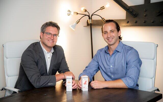 Genexa cofounders David Johnson (left) and Max Spielberg (right). (Credit: Genexa)