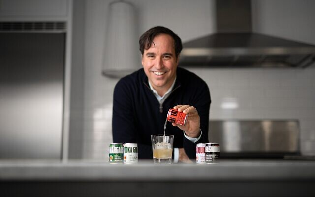"""Andrew Rodbell is """"killing it"""" with his Post Meridiem line of canned cocktails: Margarita, Old Fashioned, Mai Tai, Gimlet and Daiquiri."""