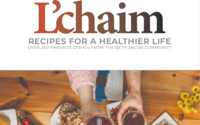 """New cookbook """"L'chaim"""" contains more than 200 recipes by Beth Jacob home cooks"""