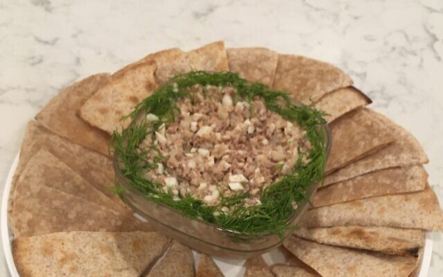 Cod Liver Appetizer. Submitted by Berta and Lev Mebel of Marietta, originally from Riga, Latvia.