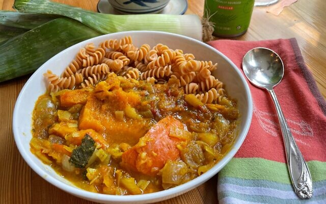 Kabocha Squash Curry. Submitted by Robin Saul.