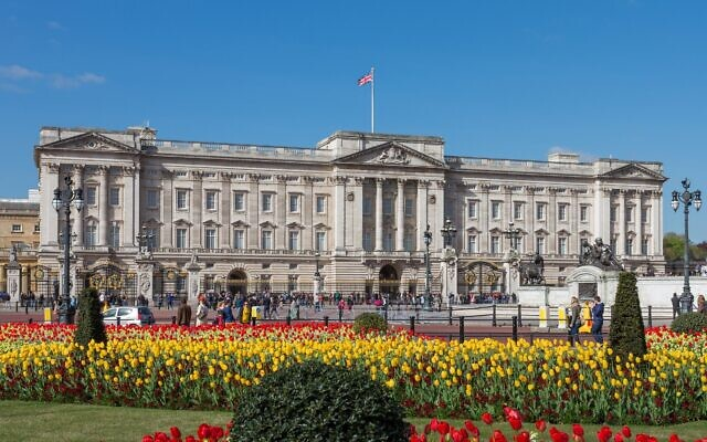 Buckingham Palace … perhaps the future venue for a king's seder night?