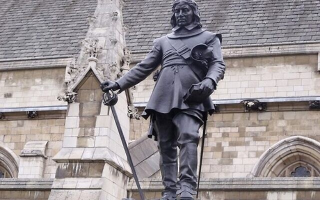 Oliver Cromwell welcomed Jews back to England after 350 years of exile.