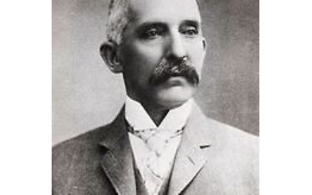 The Steiner Cancer Clinic at Grady Hospital is named in honor of Atlanta Brewing and Ice Company president Albert Steiner (1846-1919), who left $500,000 to establish the clinic. Steiner's wife and son both died of cancer. (Courtesy of The Breman Museum)