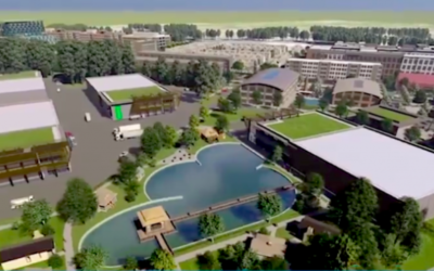 Gray Television is developing a 128-acre site that will include production studios, retail, and residential space at the old GM plant in Doraville.