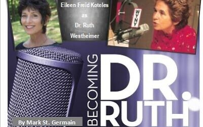 """Eileen Koteles recreated """"Becoming Dr. Ruth"""" in Dunwoody this August, after a popular run in Dalton."""