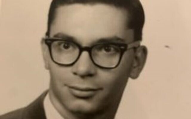 Dale Schwartz as a college student in the 1960s.
