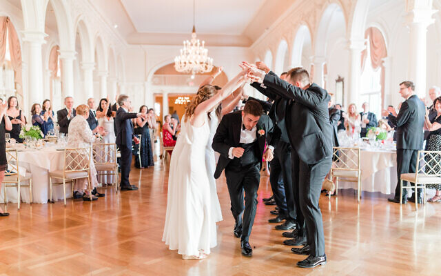 Photos by Mary Beth Marlow Photography // The groom hits the dancefloor.