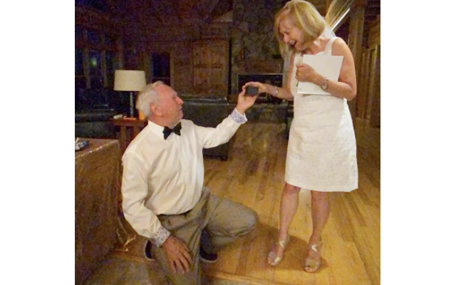 Frank proposed (again) to Denise — and she said yes!