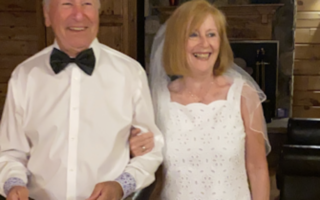 Frank and Denise Rindsberg celebrate their 50th anniversary with family at a memorable mountain lodge.