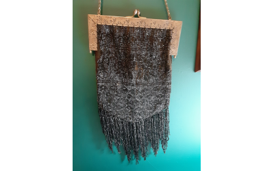 Nodar carried this beauty with beaded fringe for a while.