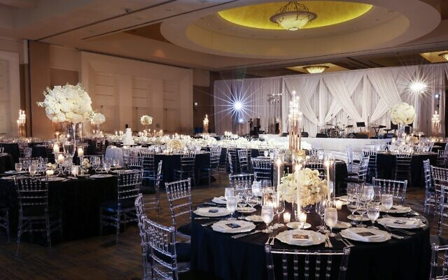 Photos by Adam Linke and Jess McGowan, The Decisive Moment // Ballroom for the ceremony