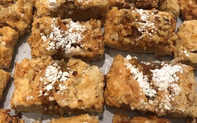 Grandma Annie Freedman's irresistible strudel is a recipe lovingly passed down through the generations.