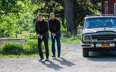 """Julian McMahon and Kellan Lutzin in the """"FBI: Most Wanted"""" episode """"Chattaboogie."""""""