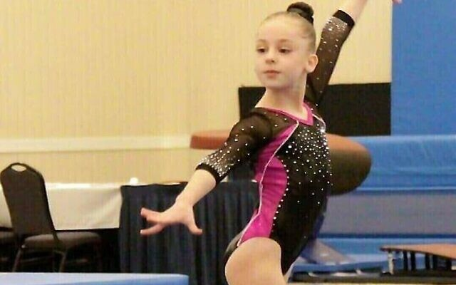 Mia during her first competition season.