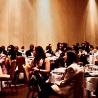 The Maccabee Task Force weekend in Atlanta brought together a hundred Black student leaders from around the country.