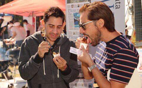 2021 Atlanta Kosher BBQ Festival left everyone tasting savory kosher meats, including vegan options.