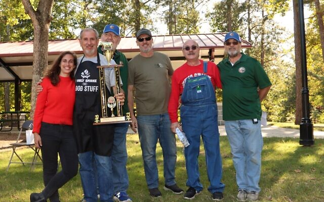 The BBQ'n Hebrew Hillbillies took home the 2021 Grand Champion trophy.