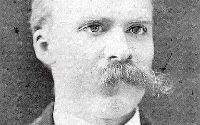 Nietzsche. (Wikimedia Commons)