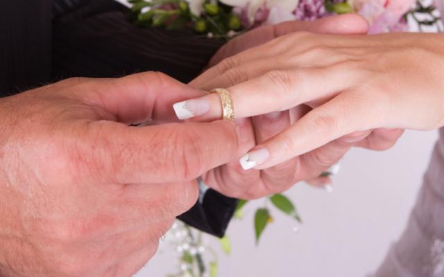 Illustrative wedding photo. (JTA)