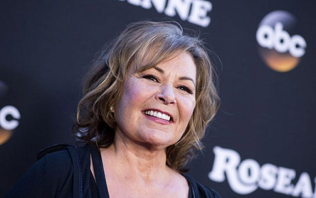 Actress/executive producer Roseanne Barr attends The Roseanne Series Premiere at Walt Disney Studios in Burbank, California, March 23, 2018 . (AFP PHOTO / VALERIE MACON)