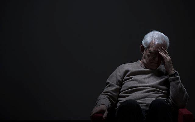 Despair, aging, loneliness, depression. (via iStock)
