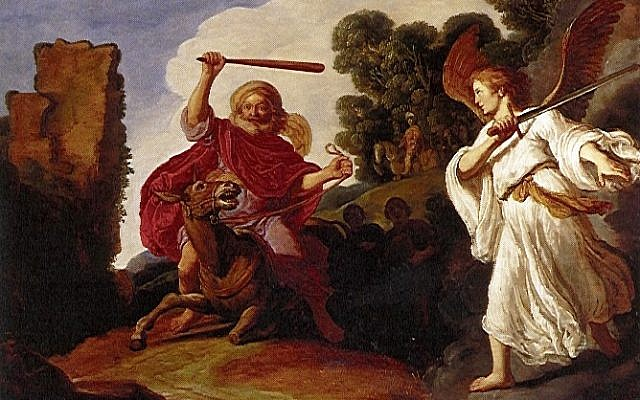Balaam and the Ass (Pieter Lastman / public domain)