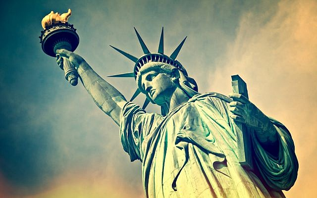Close up of the statue of liberty, New York City (iStock)