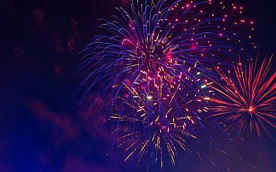 Illustrative. Holiday fireworks. (iStock)