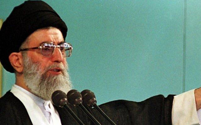 Iran's Supreme Leader Ayatollah Ali Khamenei (photo credit: Kamran Jebreili/AP)